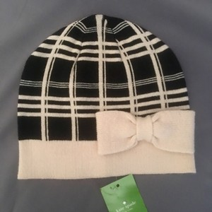 Kate Spade Kate Spade Plaid Hat with Bow, New With Tags (Scuba Plaid Collection)