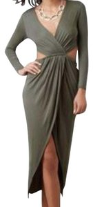 Khaki/green Maxi Dress by Better B.