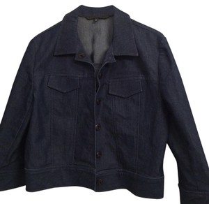 Guess Dark blue Womens Jean Jacket