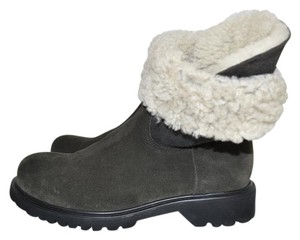 La Canadienne Ankle Moto Winter fumo Boots