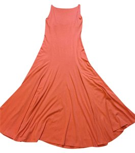 Light Organge Maxi Dress by Ralph Lauren