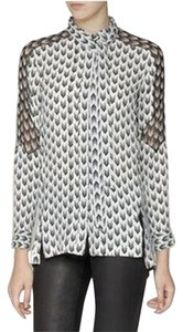 Rag & Bone Top Black & White