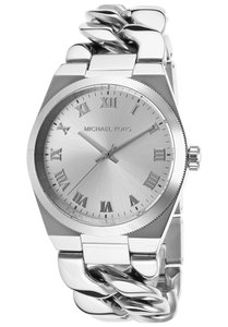 Michael Kors Channing Silver Dial Stainless Steel Ladies Watch MK3392 Brand New