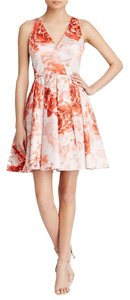 Adrianna Papell Floral Fit & Flare Dress