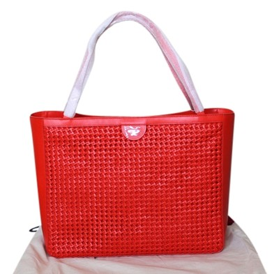 Tory Burch Erica Tote Poppy Red 25 Off Tory Burch Totes