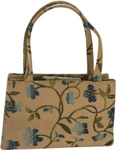 Kate Spade Satchel in Cream and light blue