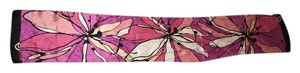Jones New York PINK FLOWER SILKY SCARF