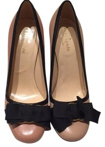 Kate Spade Nude with black bow Pumps