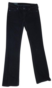 Citizens of Humanity Low Rise Denim Boot Cut Jeans-Dark Rinse