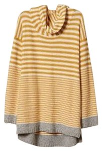Anthropologie Anthro Field Flower Stripe Sweater