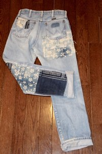 Wrangler Urban Renewal Vintage Custom Straight Leg Jeans-Distressed