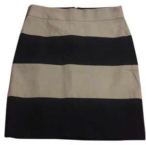 Banana Republic Skirt Black/beige
