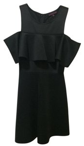 Material Girl short dress Black on Tradesy