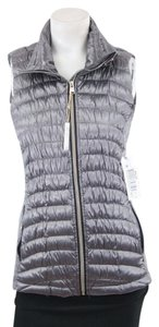 Calvin Klein Performance Quilted Down Vest in Granite