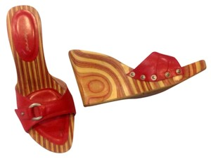 Fornarina red Wedges