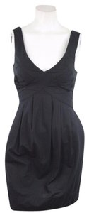 AllSaints short dress Cotton Cutout Back Pleat Above Knee on Tradesy