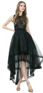 Caribbean Queen Hi Lo Sheer Formal Night Out Wedding Dress