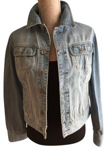 Tommy Hilfiger Denim Faded Denim Denim Jeans Faded Blue Womens Jean Jacket
