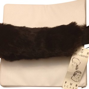 Genuine rabbit fur headband/scarf