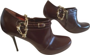 Jonathan Kelsey Multi Use Gold Chain Brown Boots