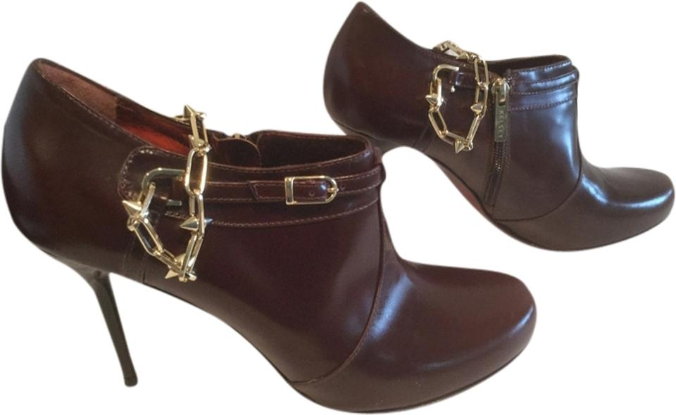 Make An Offer Price Reduction Gold New Brown All Leather Gold Reduction Chain E41 Ankle Boots/Booties 9f7edd