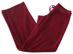 Juicy Couture Flare Pants RED