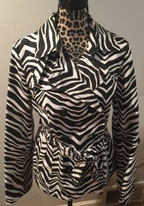Grace Elements Zebra Black and White Jacket