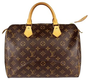 Louis Vuitton Lv Satchel in Brown