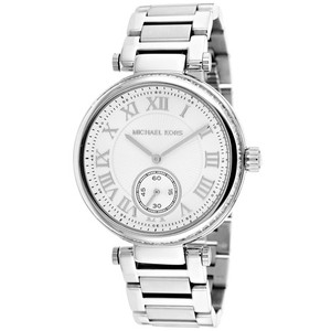 Michael Kors MICHAEL KORS Skylar Silver Dial Stainless Steel Ladies Watch