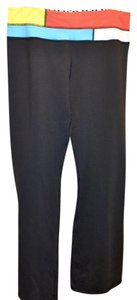 Lululemon Goove Pant Tall Medium Rise Boot Cut Pants Black, NEON YELLOW ORANGE BLUE