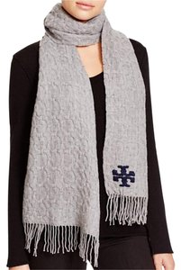 Tory Burch Whipstitch Signature T Scarf