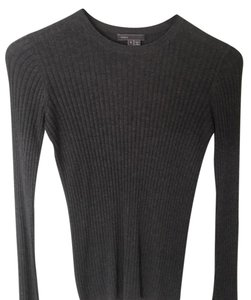 Vince Ribbed Crewneck Cashmere Sweater