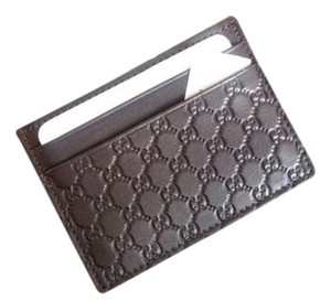 Gucci business card holders up to 70 off at tradesy gucci gucci brown leather microguccissima money card holder wallet 233166 colourmoves