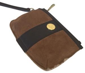 UGG Australia Shearling Wristlet in Brown And Tan