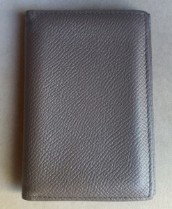 Hermès Hermes MC2 Euclide Epsom Leather Card Case Wallet