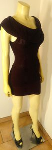 Guess By Marciano short dress brown P2242 Sweater Size X-small on Tradesy