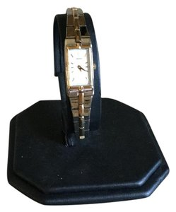 Seiko Quartz Stainless And Gold Accent Bracelet Watch