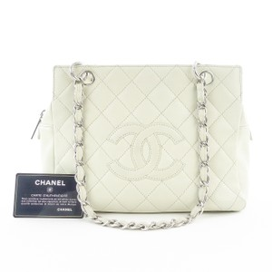 Chanel Petite Timeless Tote in Creme