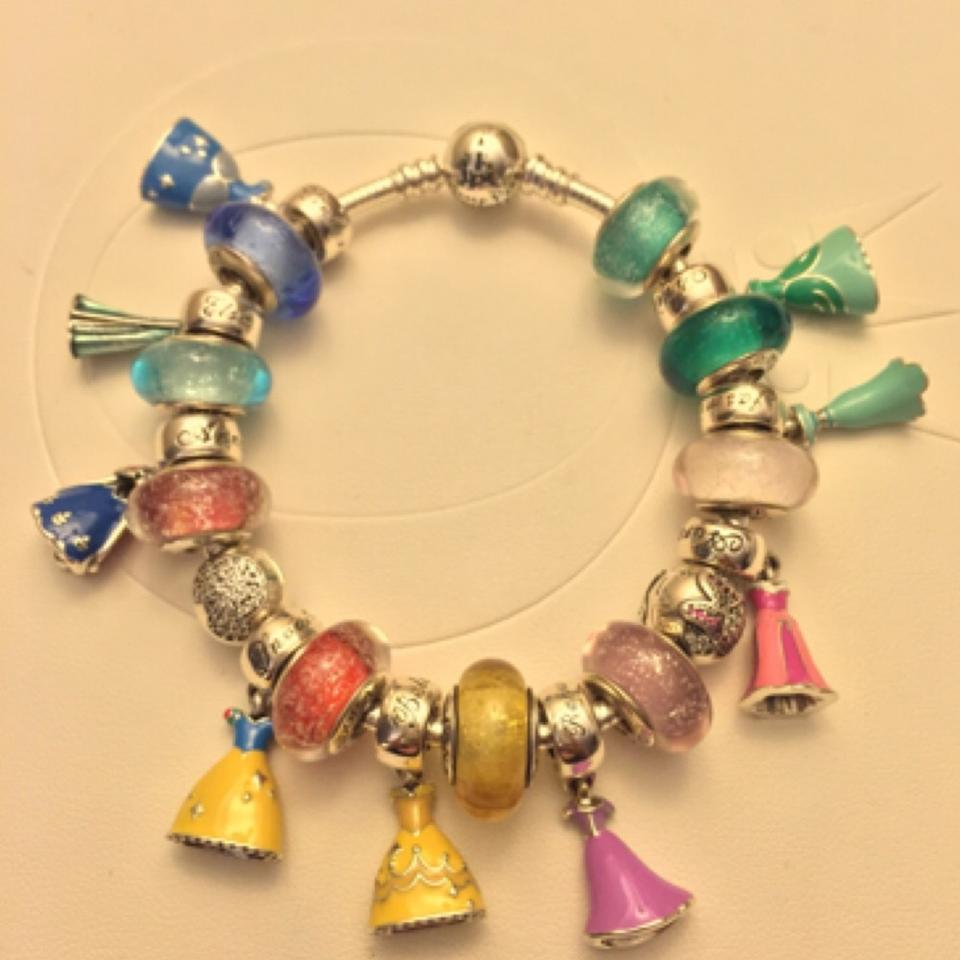 Pandora 18 Disney Princess Charms Bracelet