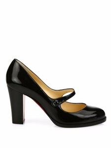 Christian Louboutin Loub Mary Jane Pump Patent black Pumps