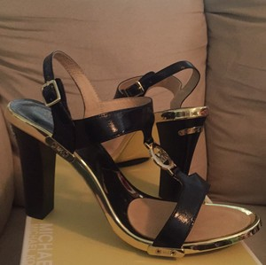 Michael Kors Black, Gold Pumps