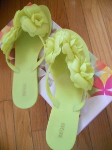Melissa yellow Sandals