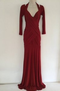 Donna Karan Ruched Pre-owned Stunning Dress