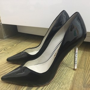 Sophia Webster Killer Patent Pointed Toe Black Pumps