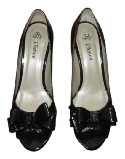 Preload https://item1.tradesy.com/images/j-renee-black-patent-leather-leather-open-toe-3-pumps-size-us-11-196235-0-0.jpg?width=440&height=440