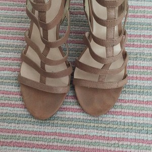 Nine West Beige Sandals