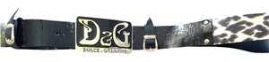 Dolce&Gabbana D&G Dolce And Gabbana Belt Size 28