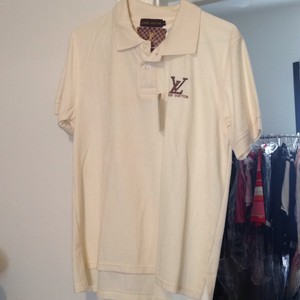 Louis Vuitton Button Down Shirt Cream