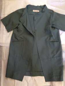 Marni Topper Sz 38 Italy Trench Coat