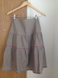 Old Navy Tiered Skirt Grey